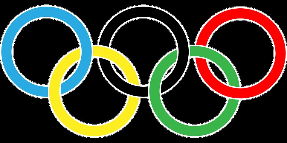 drapeau olympique
